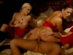 Mind throating Orgy featuring threesome and four way