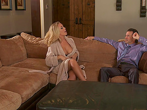 Nicole Aniston is a Bad Bad Tutor! Hot Panty, Curvy Doggystyle and Big Tits!
