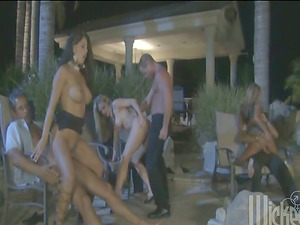 All night lengthy, fucking in the orgy with friends