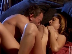 Junior Stunner with Big Tits Has an Orgasm on an Older Stud's Man sausage
