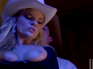 Horny Cowgirl Gets Fucked Xxx in the Rest room at a Club