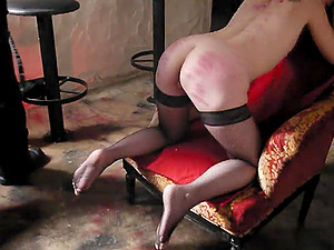 Here is a hot fetish vid with spanking and some very sexy Sadism & masochism activity going on