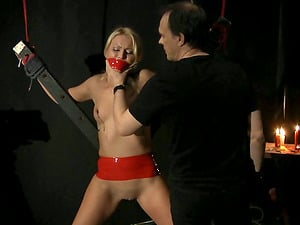 Gorgeous Cherry Smooch Gets A Spanking With Restrain bondage And Domination & submission