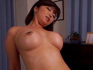 Buxomy Asian Cougar Gets Fucked Hard