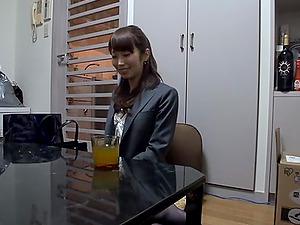 Horny Japanese Teenager Loves Magic wand In Point of view Reality