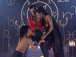 Black Diamond and Claudia Ferrari get fucked during the secret ceremony