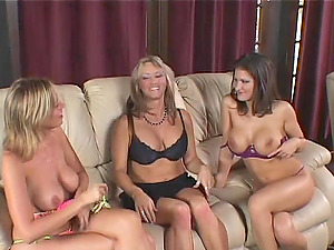 Three Horny Lesbos Loves Eating Vaginas And Reaching Numerous Orgasms