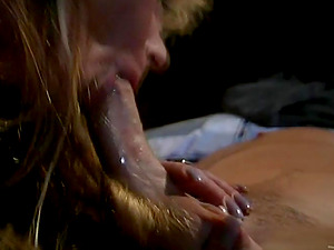 Amber Sexton loves ardent oral fuck-a-thon and hops on a prick