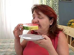 Sexy Grandma Deep throats Dick Like A Pro In A Mature Inexperienced Clip