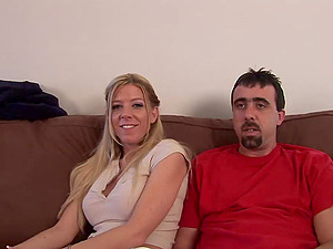 Mature Duo Fucking Nymph In Sexy Socks
