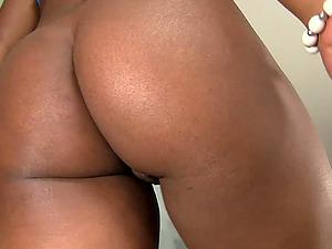 Chubby, Ebony-Skinned Woman Liking A Xxx, Interracial Fuck