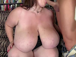 Big Titted BBW Gets Tit Fucked and Drilled