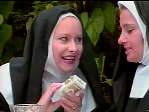 Female dom Spanking For A Missbehaving Nun Fuckslut With A Big Donk