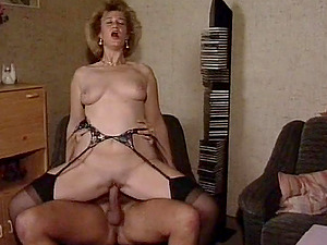 Cougar high heels porn
