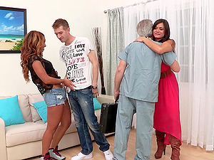Teanna Trump is fucked foolish by a large man rod