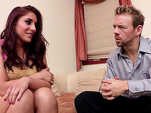 Mischa Brooks lets a man fuck her butt in all known positions