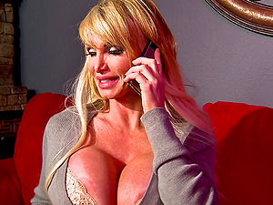 Taylor Wane is fucked bimbo while wearing stockings