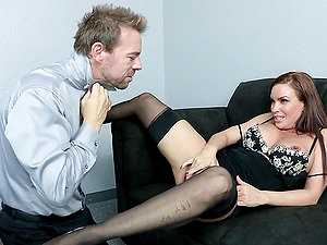 Diamond Foxxx is fucked bimbo by a boy with a large man sausage
