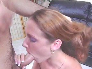 Hailey gets face-fucked and facialed and loves it a lot
