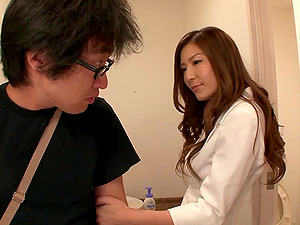 Horny Asian Honey Gives A Hot Point of view Deep throat And Rails His Hard Hard-on