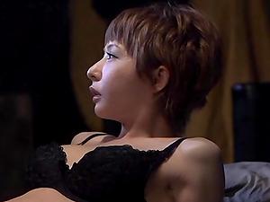 Japanese Stunner With Natral Tits In Boulder-holder Loves Orgasm In Restrain bondage
