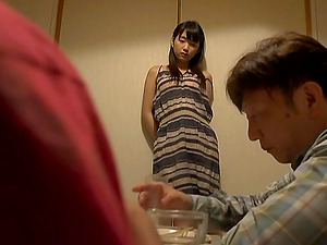 Tsuna Nakamura loves 69 oral hump and gets her Asian cunt slammed