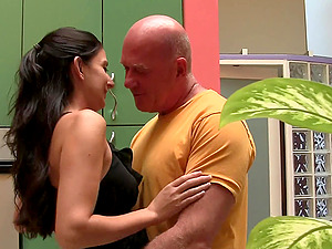 Queen Nikki Daniels Goes Hard-core With Claudio Over A Couch
