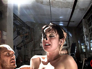 Bondage & discipline Chick Likes Torment And Ass-fuck Fucking In Fetish Film