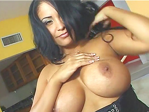 Buxomy Stunner In Brassiere And Panty Gives Head Then Banged And Jizzed