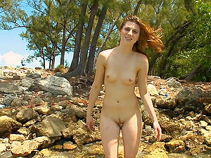 Brooke gets down and goes for a handjob