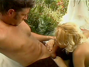 Gorgeous Blonde With Natural Tits Yells While Being Smashed Outdoor
