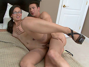 Crissy Moon Instructs Jay Cloud A Hard-core Fucking Lessson