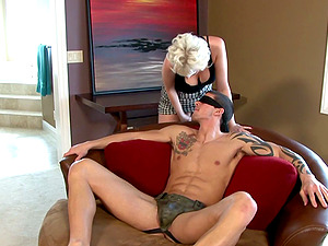 Two Hot Studs Banged In Female domination Threesome Escapade