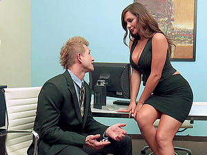 Hot Fate Dixon Gets Banged In The Office