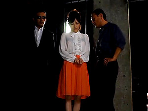 Sadism & masochism Asian chick Erina Fujisaki gets abased and tantalized