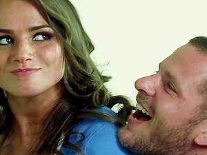 Tori Black blows and gets her cunt smashed in upskirt lovemaking clip