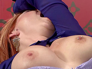 Tarra and Stacy use a magic wand fuck stick to please each other