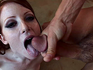 Hot butt cowgirl Nikki Rhodes in a fat dick rail and wild bj activity