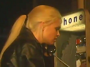 Jesse Jane mouth fucks man rod and shows faux tits while fucking