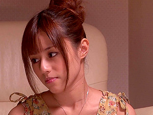 Lustful Japanese Rina Rukawa pleases a dude with a blow-job