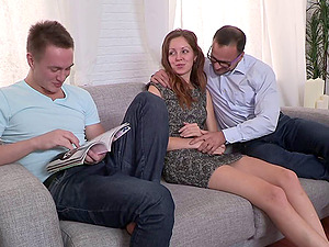 A hotwife vid where a spouse observes his wifey get fucked