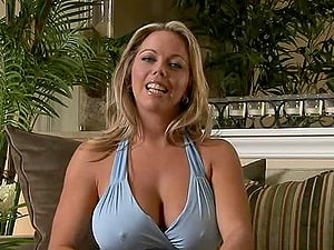 Tremendously big-chested and hot mom loves witnessing a man with a big manstick