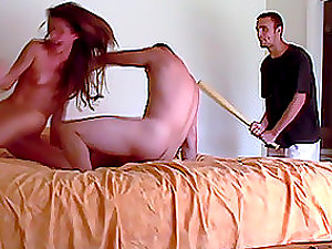 Sexy fledgling lady gets fucked rough on spycam