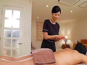 Enticing compilation scenes along a very sex-appealing Japanese massaging and fucking