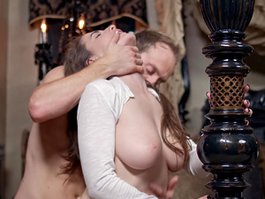 Naturally talented nymph has her trimmed vulva penetrated