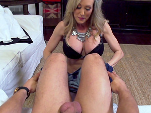 Mummy hires a dude with a big dick just to bang her weekly