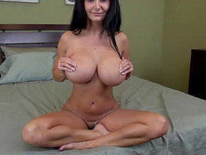 Faux melons honey Ava Addams will fuck in any position