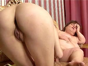 Big tits girl-on-girl midget fucks a plaything into a skinny woman