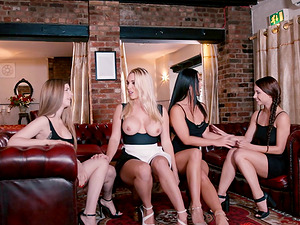 Breathtaking ladies sharing the pecker in the anal invasion venture