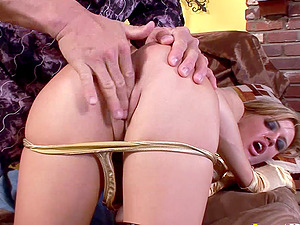 Anal invasion makes Holly Wellin and Tori Lane groan